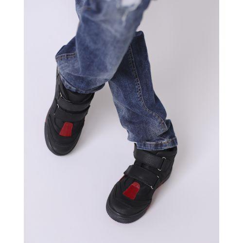 Ботинки для мальчиков 721 | Демисезонная детская обувь оптом и дропшиппинг