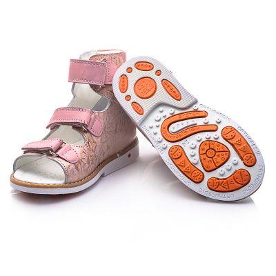 Ортопедические босоножки для девочек 729 | Интернет-магазин детской обуви Theo leo