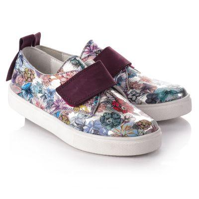 Слипоны для девочек 731 | Интернет-магазин детской обуви Theo leo