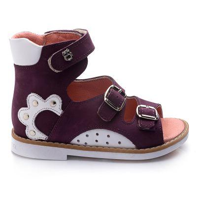 Ортопедические босоножки 733 | Белая детская обувь 24 размер 14 см