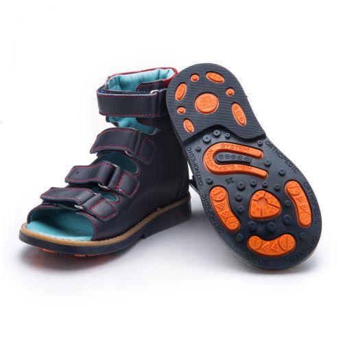 Ортопедические босоножки для мальчиков 735 | Детская обувь оптом и дропшиппинг