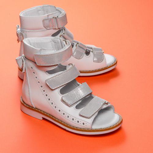 Ортопедические босоножки для девочки 737 | Детская обувь 17,3 см оптом и дропшиппинг