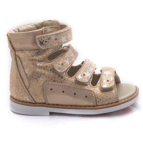 Ортопедические босоножки для девочек 751 | Детская обувь 15 см оптом и дропшиппинг