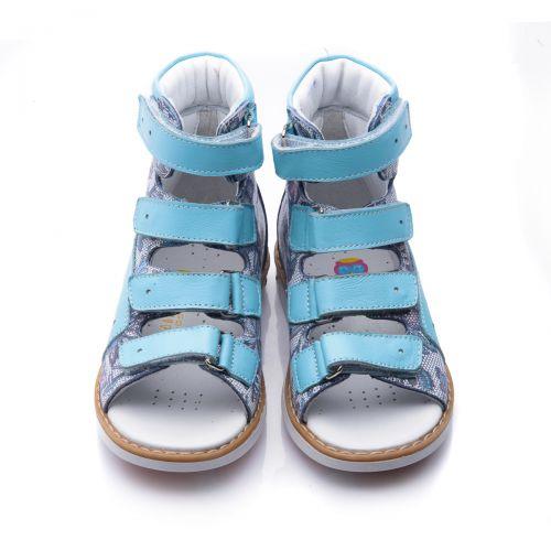 Ортопедические босоножки для девочек 752 | Детская обувь 21,6 см оптом и дропшиппинг