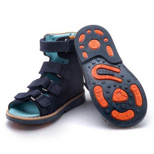Ортопедические босоножки для мальчиков 753 | Детская обувь оптом и дропшиппинг