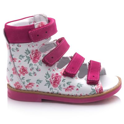 Ортопедические босоножки для девочек 761 | Обувь для девочек 18 размер