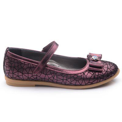 Туфли для девочек 764 | Белая, красная, голубая, малиновая, фиолетовая, бежевая, бирюзовая, горчичная, розовая приглушенная, серая, песочная, золотая обувь для девочек