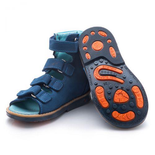 Ортопедические босоножки для мальчиков  777 | Детская обувь оптом и дропшиппинг