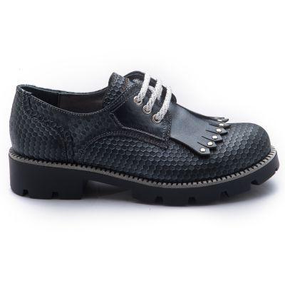 Туфли для девочек 798 | Серая осенняя детская обувь