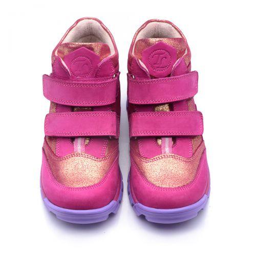 Ботинки для девочек 802 | Демисезонная детская обувь оптом и дропшиппинг
