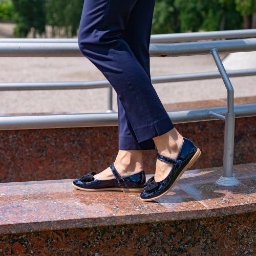 Туфли для девочек 805   Детская обувь 24 см оптом и дропшиппинг