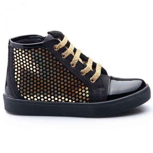 Ботинки для девочек 816 | Детская обувь из нубука оптом и дропшиппинг
