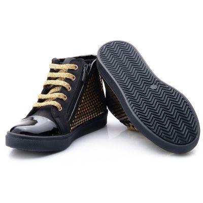 Ботинки для девочек 816 | фото 4
