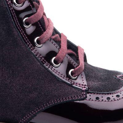 Ботинки для девочек 824 | фото 3