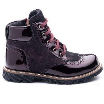 Ботинки для девочек 824 | Детские ботинки для девочек