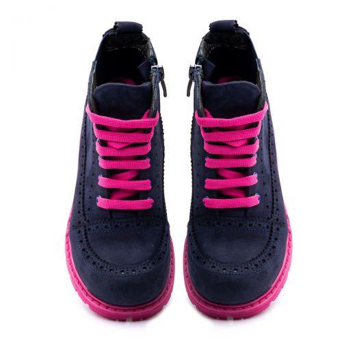 Ботинки для девочек 1018 | Демисезонная детская обувь оптом и дропшиппинг