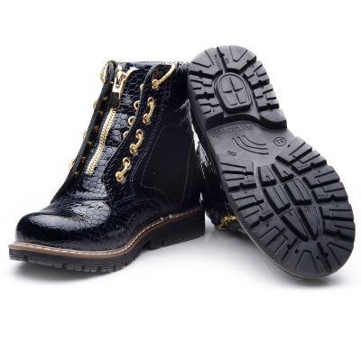 Ботинки для девочек 835 | фото 4