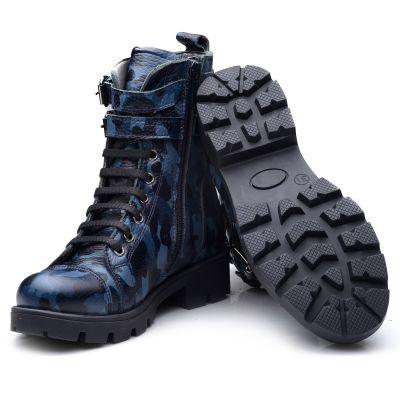 Ботинки для девочек 837 | фото 4