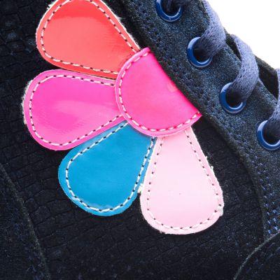 Ботинки для девочек 838 | фото 3