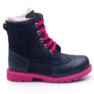 Зимние ботинки для девочек 848 | Обувь для девочек 29 размер