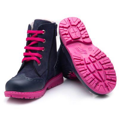 Зимние ботинки для девочек 848 | фото 4