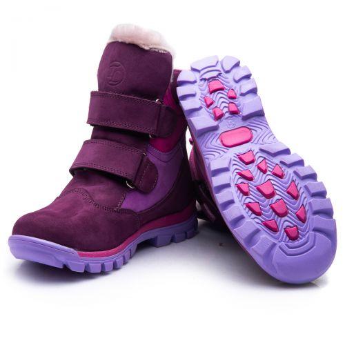 Зимние ботинки для девочек 849 | Детская обувь оптом и дропшиппинг