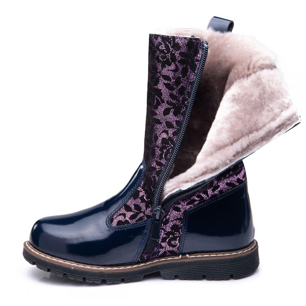 Зимние сапоги для девочек 853  цена  span class  autocalc-product- f0ab7ef30c504