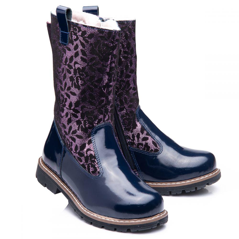 Зимові чоботи для дівчаток 853  купити дитяче взуття онлайн 5a9f1e3796387