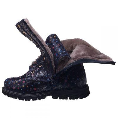 Зимние сапоги для девочек  856 | Ортопедическая детская обувь