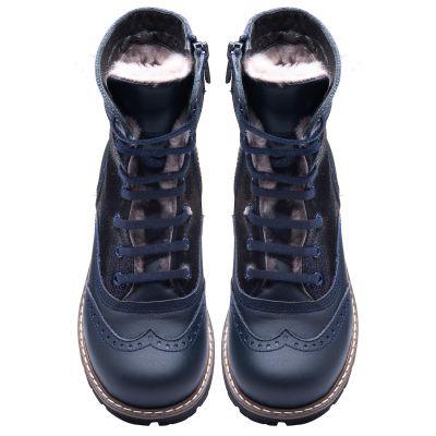 Зимние ботинки для девочек 857 | фото 2