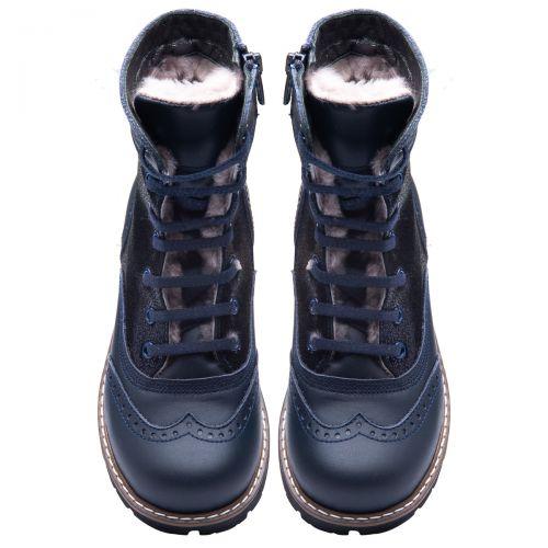 Зимние ботинки для девочек 857 | Детская обувь 20,7 см оптом и дропшиппинг