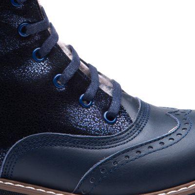 Зимние ботинки для девочек 857 | фото 3