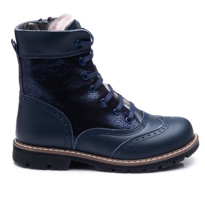 Зимние ботинки для девочек 857 | Ортопедическая детская обувь 22,1 см