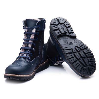 Зимние ботинки для девочек 857 | фото 4