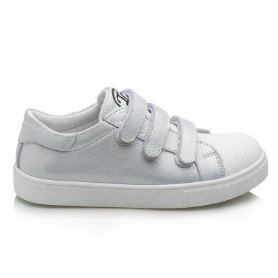 Кроссовки для девочек 868 | Белая осенняя детская обувь 19,5 см