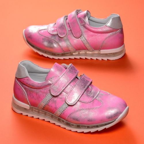 Кроссовки для девочек 870 | Осенняя детская обувь оптом и дропшиппинг