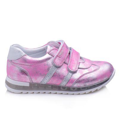 Кроссовки для девочек 870 | Белая демисезонная обувь для девочек, для мальчиков
