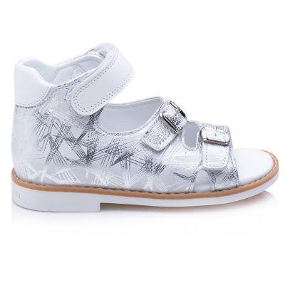 Босоножки для девочки 873 | Белая детская обувь 2, 4 лет 23 размер