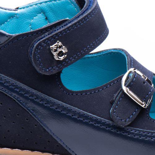 Босоножки для мальчиков 880 | Детская обувь из нубука оптом и дропшиппинг