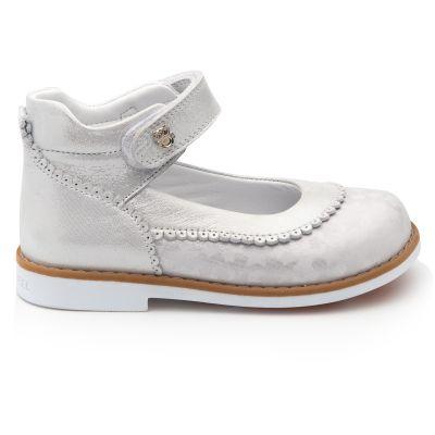 Туфли для девочек 882 | Белая детская обувь 26 размер 20 см