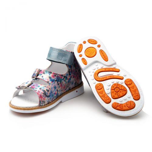 Босоніжки для дівчаток 884 | Текстильне дитяче взуття оптом та дропшиппінг