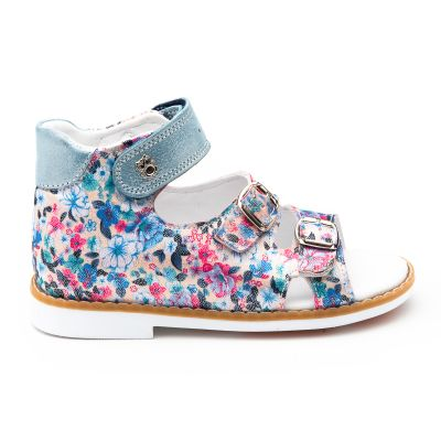 Босоножки для девочки 884 | Белая детская обувь 24 размер 14 см