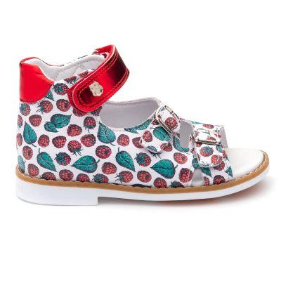Босоножки для девочки 890 | Белая детская обувь 24 размер 14 см