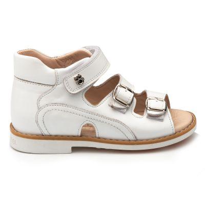 Босоножки для девочки 897 | Белая детская обувь 2, 4 лет 23 размер