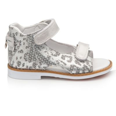 Босоножки для девочки 899 | Белая обувь для девочек, для мальчиков 18,4 см