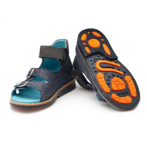Босоніжки для хлопчиків 901 | Текстильне дитяче взуття оптом та дропшиппінг
