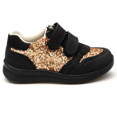 Кроссовки для девочек 902 | Детская обувь из нубука