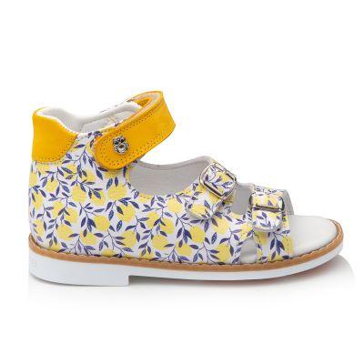Босоножки для девочки 905 | Белая детская обувь 24 размер 14 см