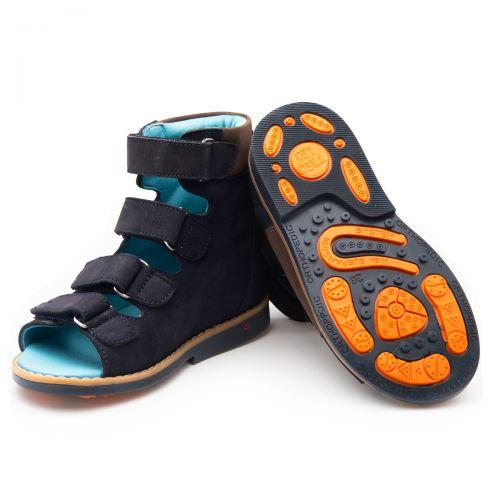 Ортопедические босоножки для мальчиков 909 | Детская обувь 21,6 см оптом и дропшиппинг