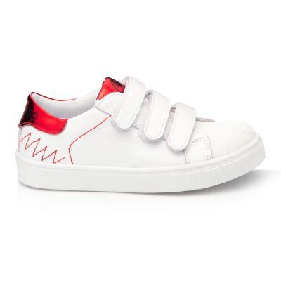 Кроссовки для девочек 911 | Белая обувь для девочек, для мальчиков 18,4 см